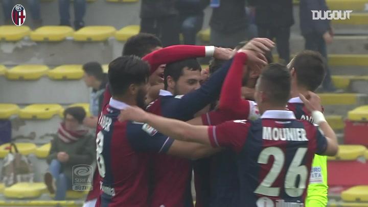 Destro scores twice as Bologna beat Napoli
