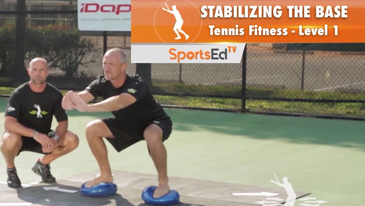 Stabilizing The Base - Tennis Fitness Level 1