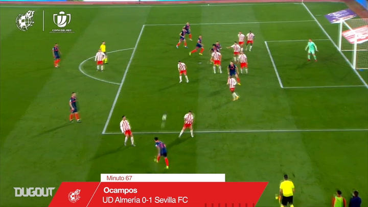 Sevilla's best 20/21 Copa del Rey goals