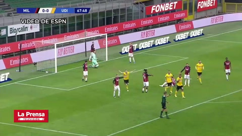 AC Milan 1-1 Udinese (Serie A)