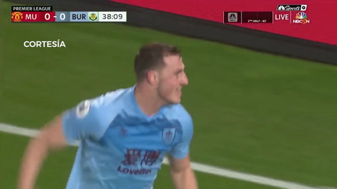 Manchester United 0-2 Burnley (Premier League)