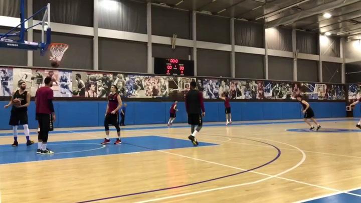 El Barça Basket se prepara con vistas al CSKA Moscú de Euroliga