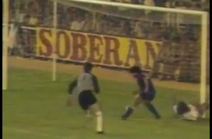 El gol de Maradona al Madrid
