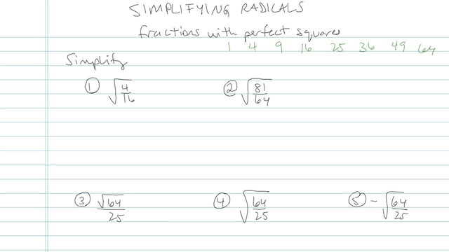 Simplifying Radical Expressions - Problem 5