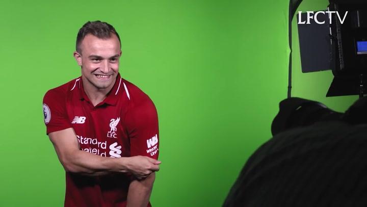 Xherdan Shaqiri, jugador del Liverpool
