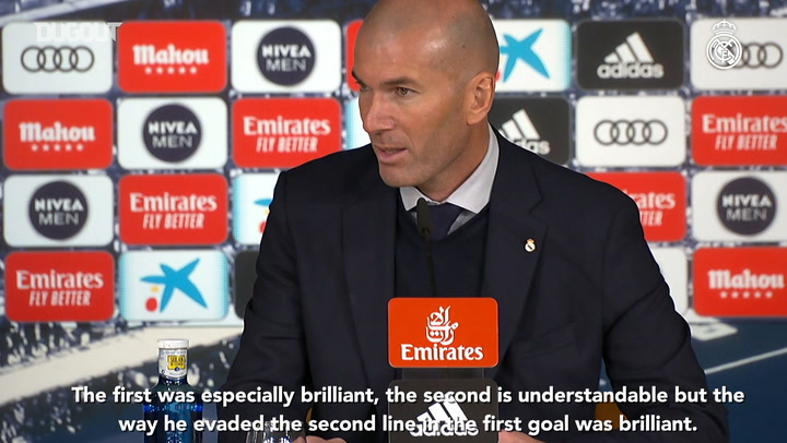 Zidane: 'We were better in the second half and the game changed'