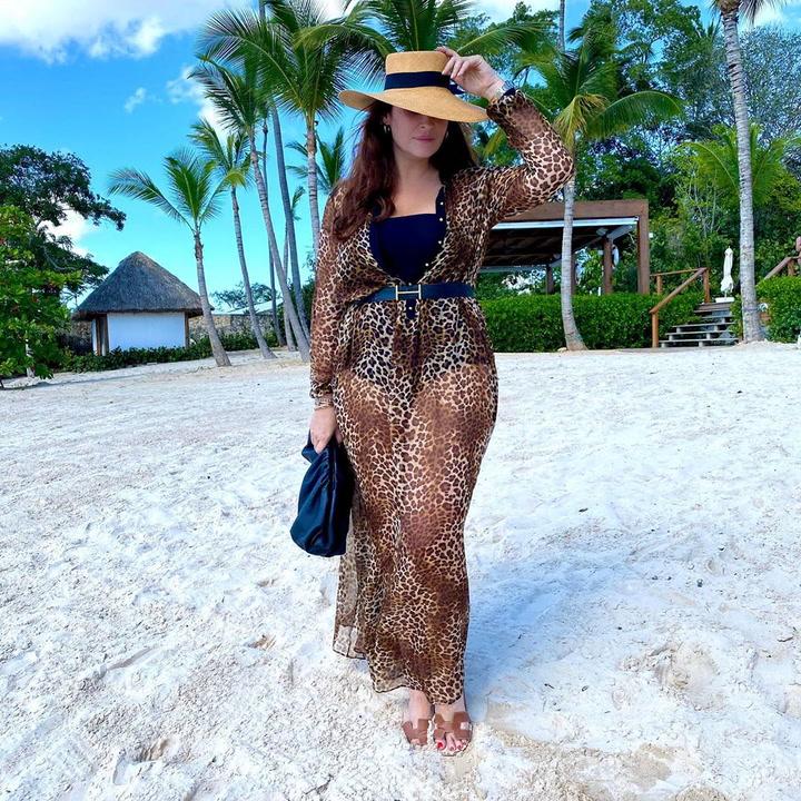 Vicky Martín Berrocal posa en bikini tras las Navidades