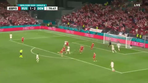 Dinamarca 4-1 Rusia (Eurocopa)