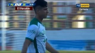 Platense empata 1-1 con gol de Gerson Rodas ante Juticalpa