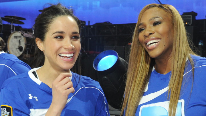 Serena Williams Leads Support For Harry And Meghan After Interview