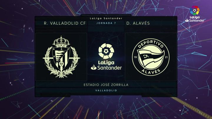LaLiga (J7): Resumen y goles del Valladolid 0-2 Alavés