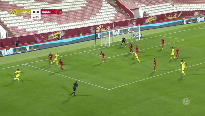 Arabian Gulf League: Fujairah SC 0-1 Ittihad Kalba