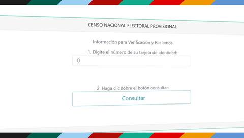 Paso a paso: ¿Cómo verifica tu domicilio y centro de votación?