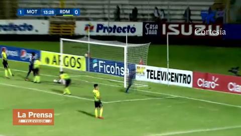 Motagua 6-1 Real de Minas (Liga Nacional)