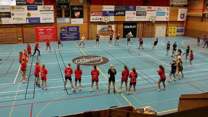 Utprovning overall + uppdatering träning RP IF Linköping