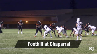 Nevada Preps Week 4: Foothill Takes On Chaparral
