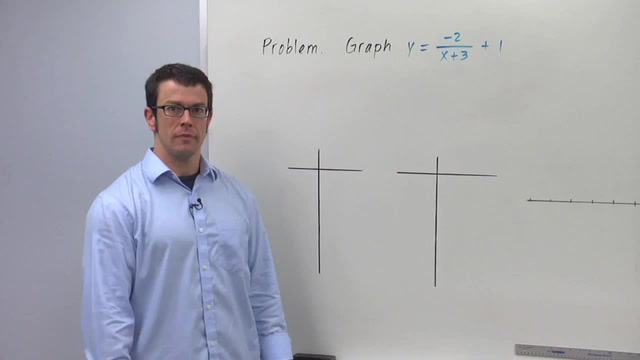 Graphing the Transformation y = f(x - h) - Problem 3