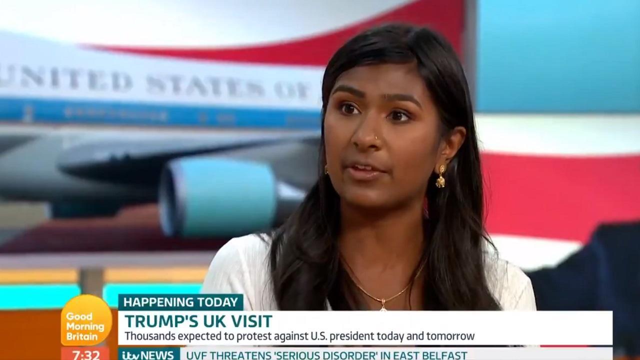 Piers Morgan grills anti-Trump communist over her hypocrisy regarding immigration in testy debate