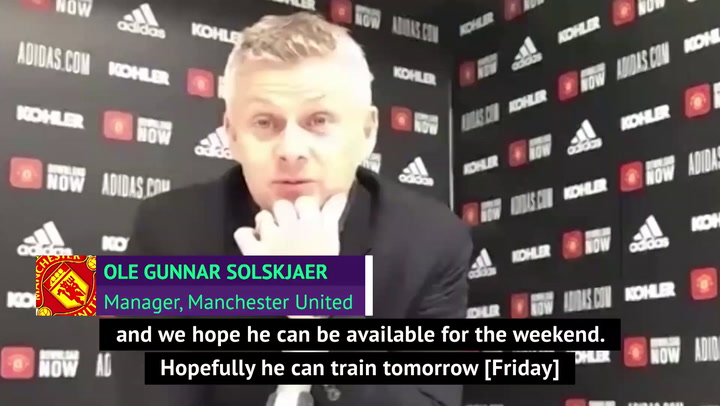 Solskjaer confirms Bailly contract talks