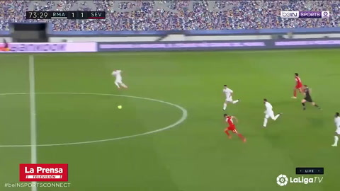 El polémico penal que pitaron en contra del Real Madrid contra Sevilla