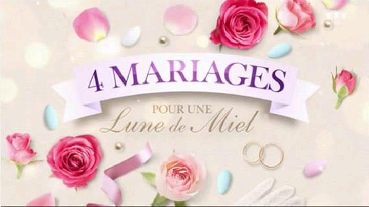 Replay 4 mariages pour une lune de miel - Lundi 23 Novembre 2020