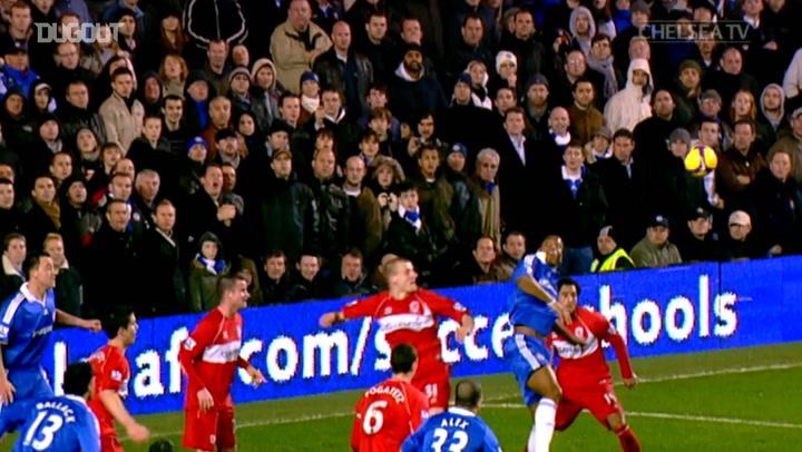 Salomon Kalou's Chelsea goals