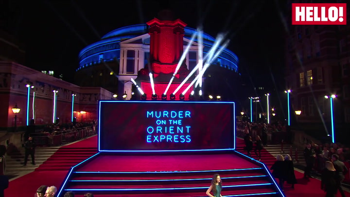 The Murder on the Orient Express World Premiere