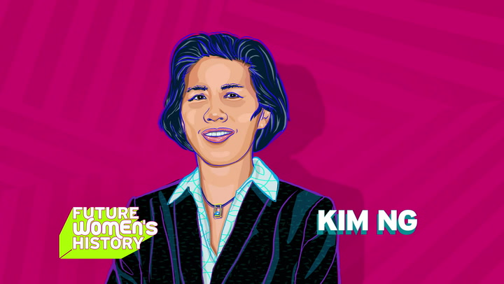 Future Women's History Honors Kim Ng!