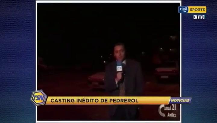 Así fue el casting inédito de un joven Josep Pedrerol hace más de 30 años