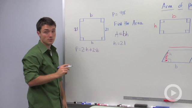 Area of Parallelograms - Problem 4