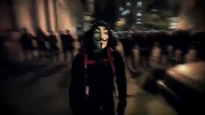 Anonymous eist aanval op
