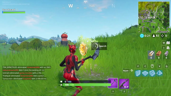 fortnite search between a giant rock man crowned tomato encircled tree inverse - fortnite giant rock man a crowned tomato
