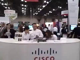 NRF: Cisco Retail booth walk-through