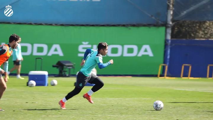 Nico Melamed, convencido del ascenso del Espanyol