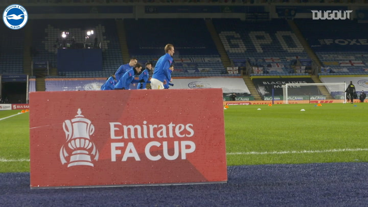 Pitchside: Albion bow out of FA Cup to late Leicester winner