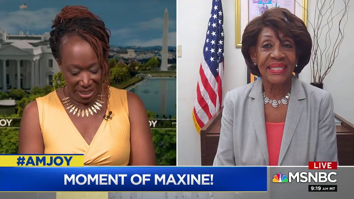 Maxine Waters: Trump and Supporters Believe it Is Their Right to Ensure Blacks Don't Have Power