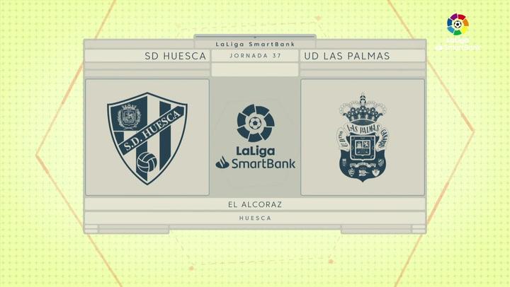 LaLiga Smartbank (Jornada 37): Huesca 1-0 Las Palmas