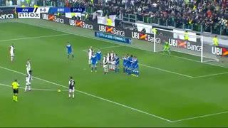 Una zurda educada: Paulo Dybala y su golazo de tiro libre la Juventus