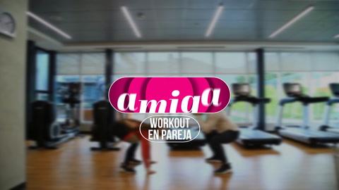Amiga: Workout en pareja