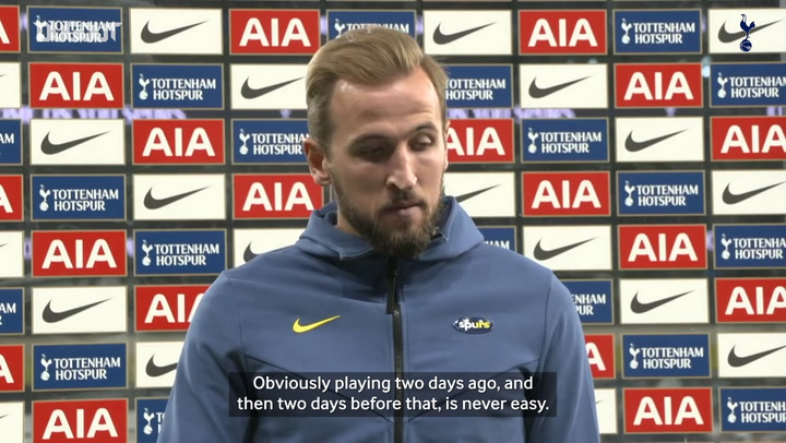 Kane looks ahead to Man United after securing Europa League spot