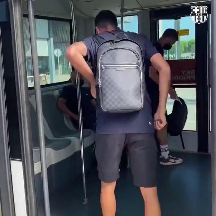 El Barça vuela hacia Valladolid