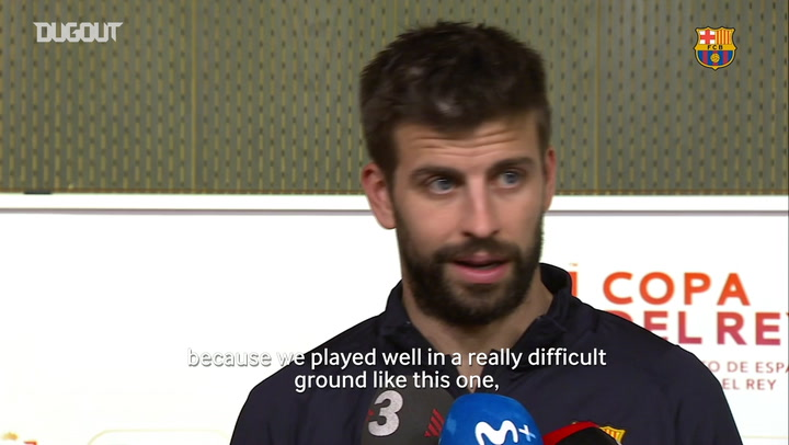 Gerard Piqué: 'We will change our current situation'