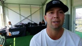 Former UNLV golfer Taylor Montgomery at Legacy