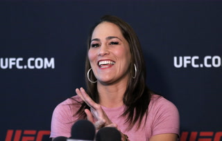 Jessica Eye's excited to headline UFC on ESPN 10 – VIDEO