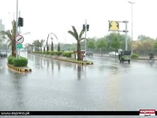لاہور میں بارشوں کا سلسلہ شروع