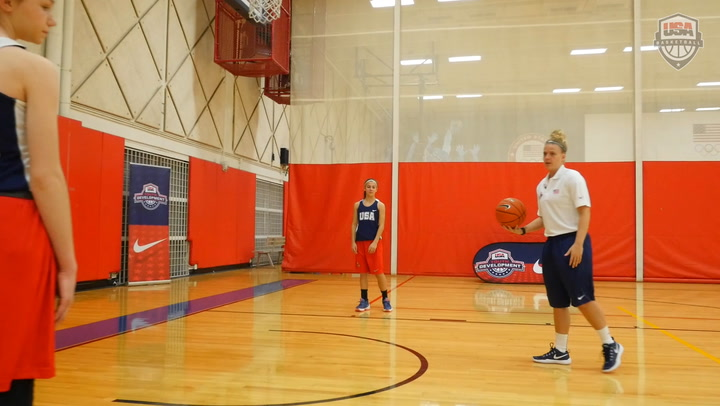Two-Hand Form Shooting - Shooting With A Jump