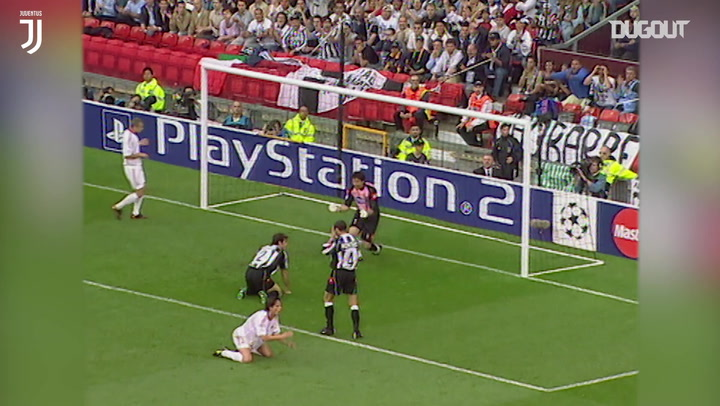 Buffon's Champions League final save vs Milan
