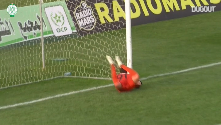 Mouhssine Iajour's hat-trick secures three points vs Difaâ El Jadida