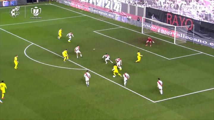 Santi Cazorla's goal vs Rayo Vallecano