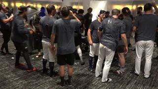 Las Vegas Aviators celebrate playoff berth (Aviators)